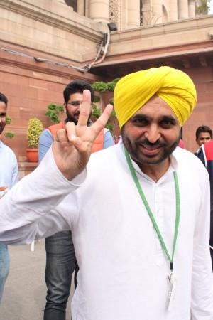 AAP MP Bhagwant mann