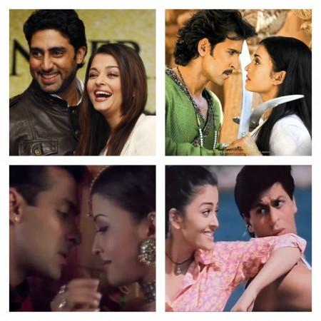 Who looks best opposite Aishwarya Rai Bachchan – Hrithik Roshan, Salman Khan, SRK, Abhishek Bachchan