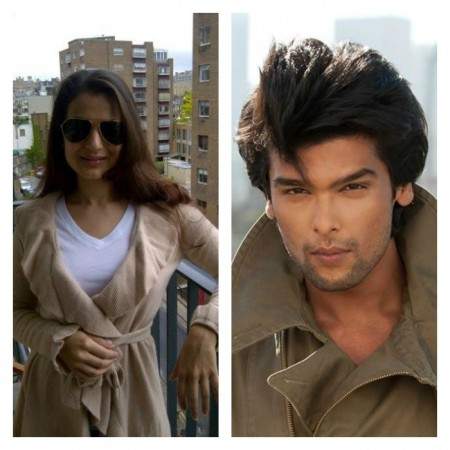 Ameesha Patel and Kushal Tandon