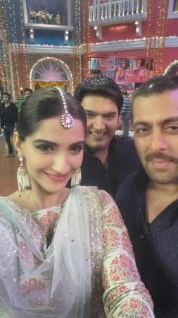 Salman Khan, Sonam Kapoor on Kapil Sharma's show 'Comedy Nights With Kapil'
