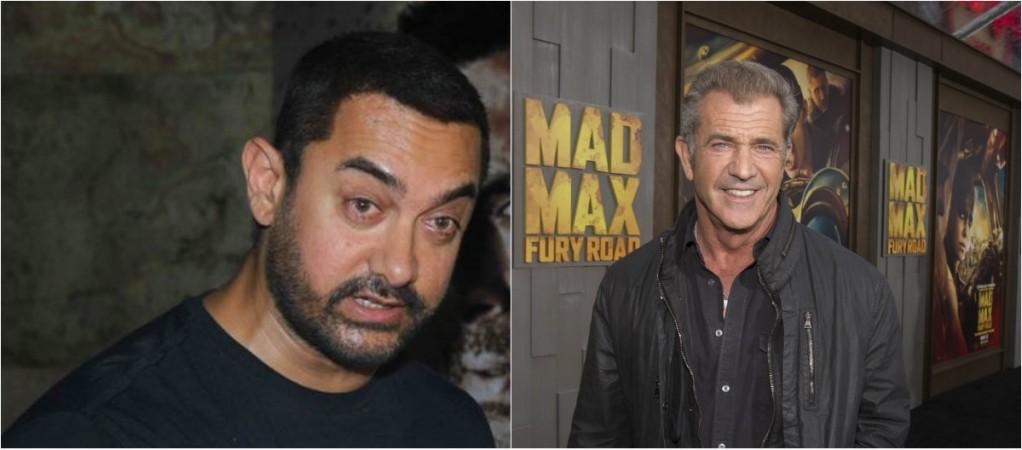 Aamir Khan and Mel Gibson