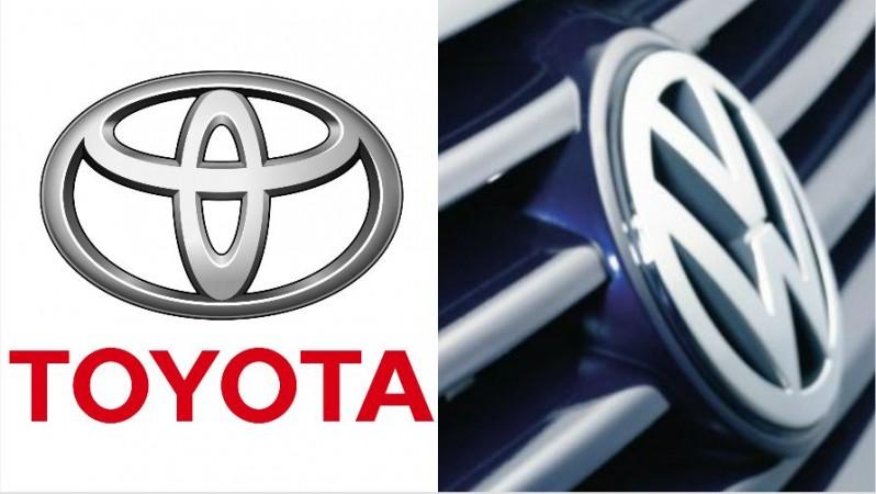 Toyota, Volkswagen logo