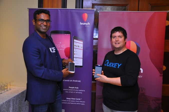 Guru Gowrappan, COO, Quixey and Tomer Kagan, CEO and Co-founder, Quixey