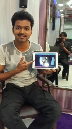 Vijay promoting