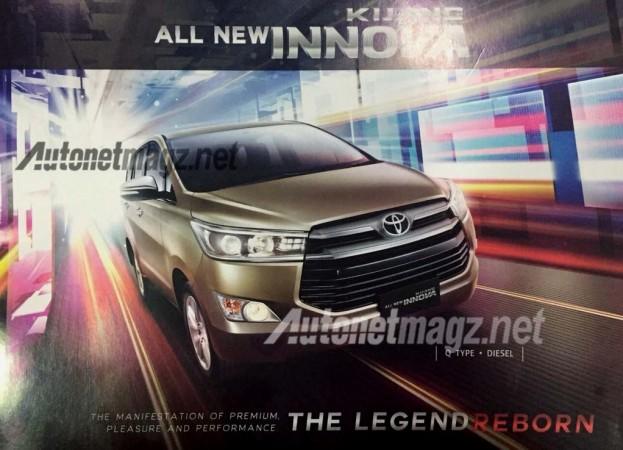 New Toyota Innova brochure