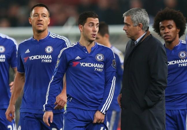 Terry Hazard Mourinho Chelsea