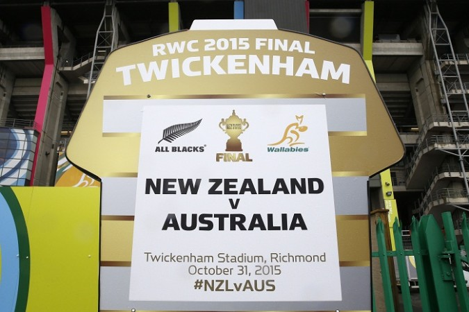 New Zealand vs Australia 2015 Rugby World Cup final