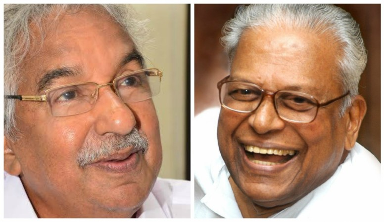 Oommen Chandy and VS Achuthanandan