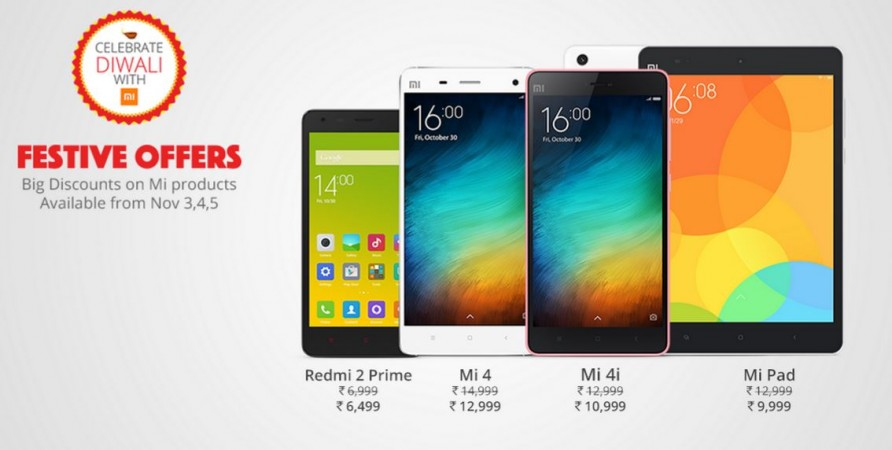 Xiaomi Diwali Sale 2015: Company reveals festive offers [Everything you need to know]