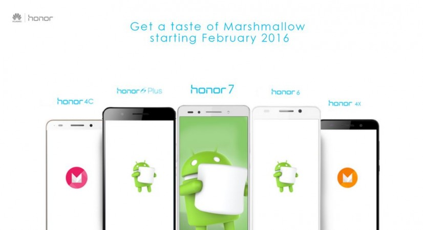 Huawei's Honor reveals Android Marshmallow roll-out schedule; Honor 7 first in line to get new update