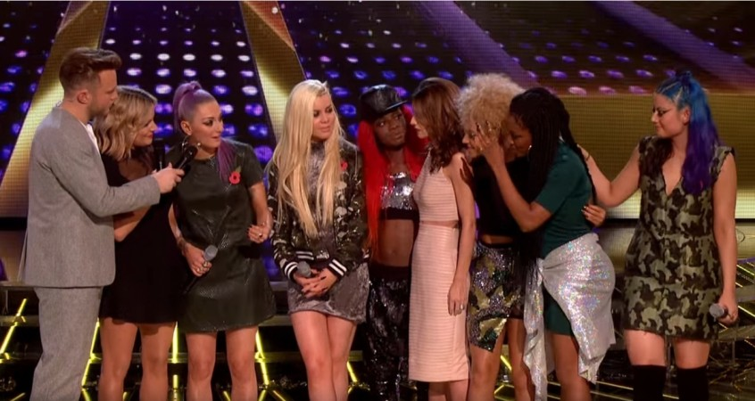 """Alien Uncovered on """"The X Factor"""" UK 2015"""