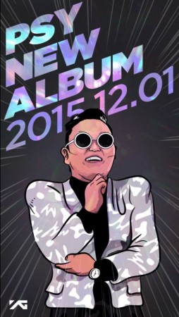 Psy's new album will be released in December