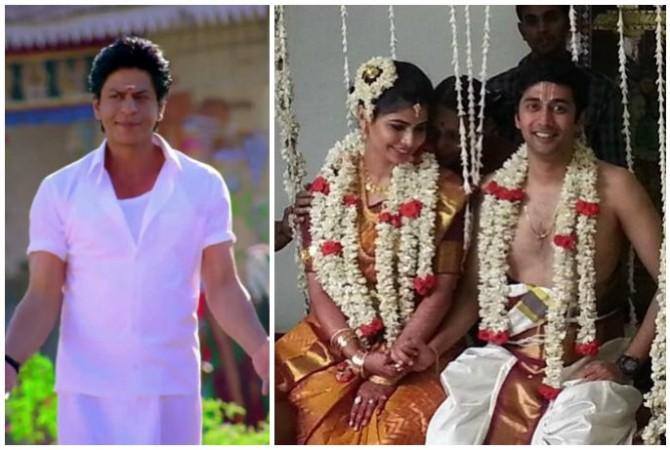 Shah Rukh Khan, Chinmayi Sripaada and Rahul Ravindran