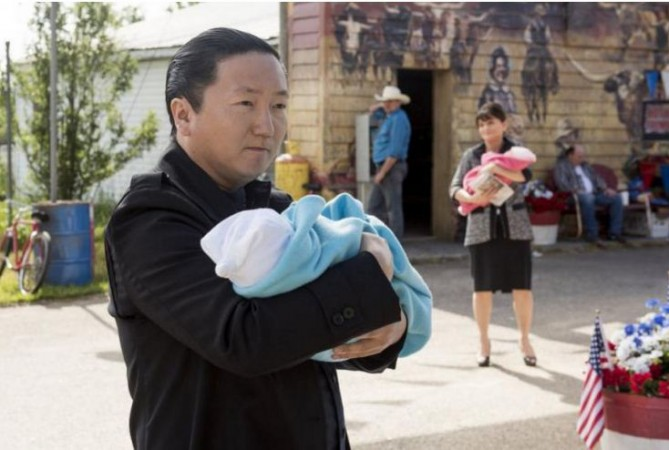 Hiro Nakamura and Angela Petrelli arranged for Claire's twins to be raised in the past