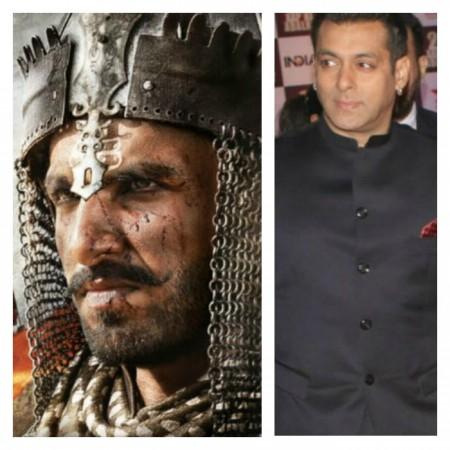 Ranveer Singh, Salman Khan