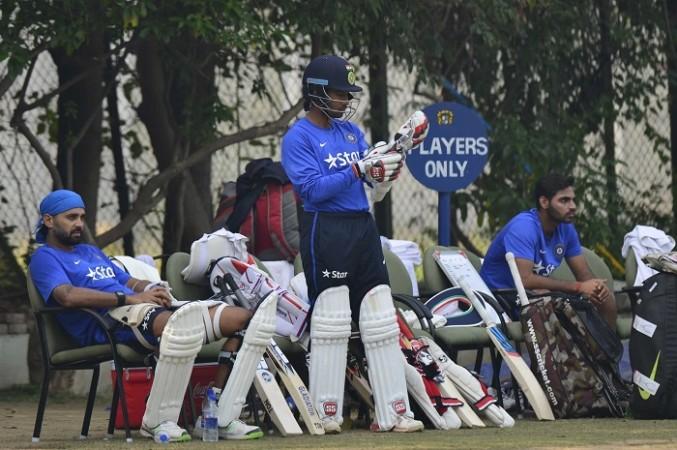 India Saha Vijay batting