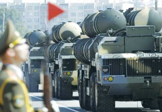 The S-300 MISSILE launching system