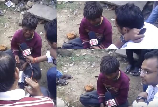 Aaj Tak Television 'leaked video
