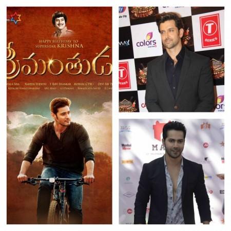 Hrithik Roshan, Varun Dhawan might star in Hindi remake of Mahesh Bahu starrer 'Srimanthudu'