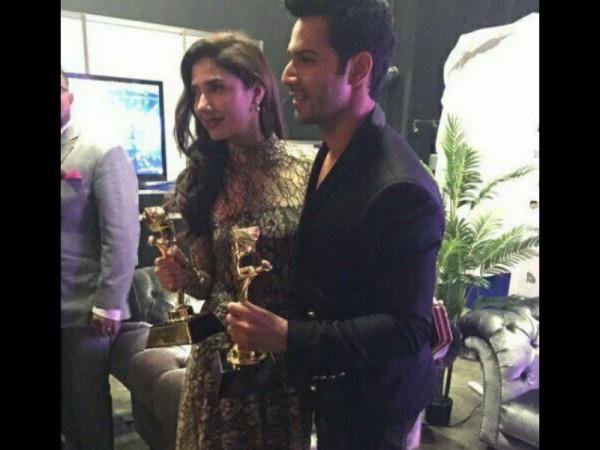 Varun Dhawan and Mahira Khan