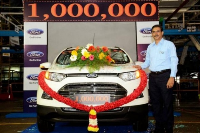 Ford India's Chennai plant rolls out millionth vehicle