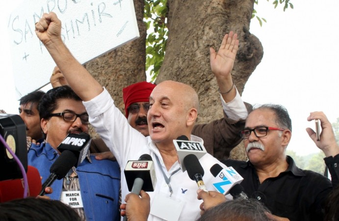 Anupam Kher protests Award Wapsi