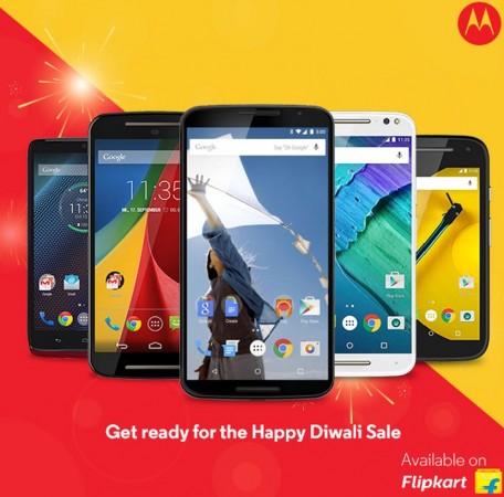 Flipkart's Happy Diwali Sale 2015: Motorola phones Moto G3, Moto X Play and more get huge cash discount