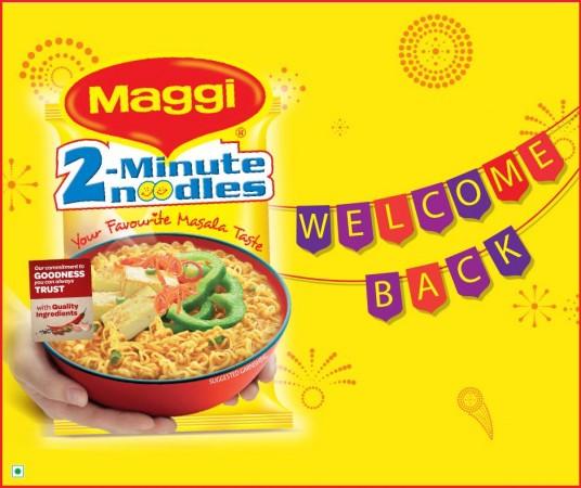 Maggi Noodles is Back