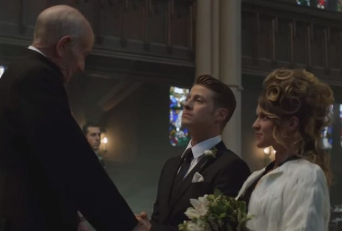 Jim and barbara getting married in 'Gotham'