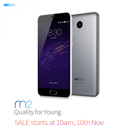 Rs. 6,999 Meizu m2 flash sale: Snapdeal to host next sale on 10 November
