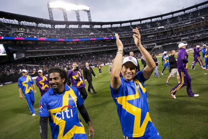 Muttiah Muralitharan Sachin Tendulkar Cricket All Stars