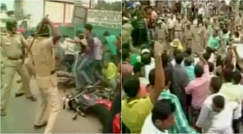 Tipu Jayanti protest