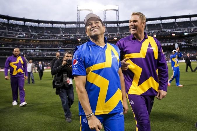 Sachin Tendulkar Shane Warne Cricket All Stars