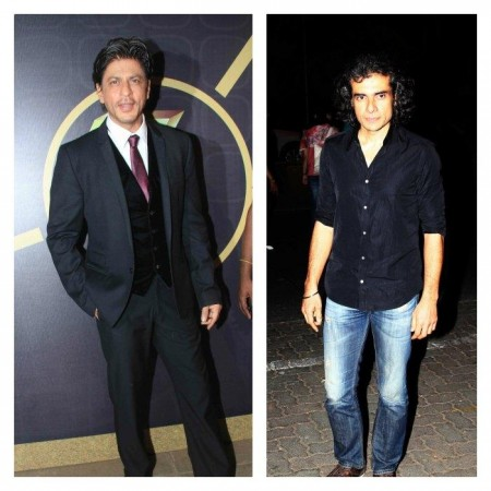 Shah Rukh Khan and Imtiaz Ali