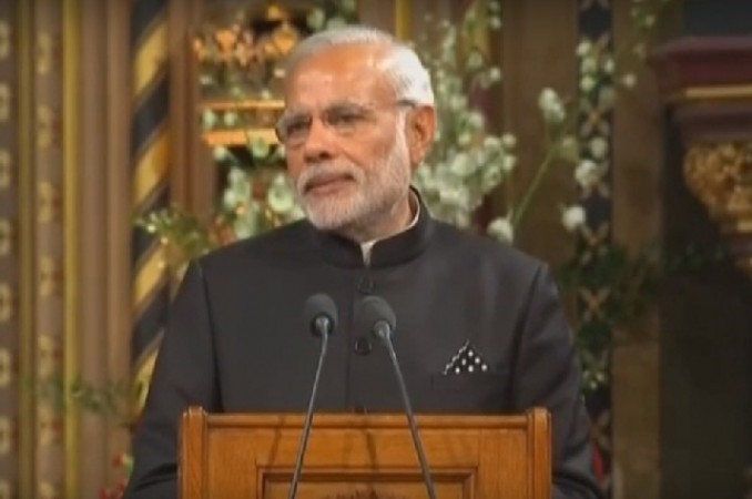 Modi addresses British Parliament