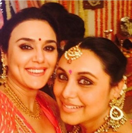 Preity Zinta's Diwali selfie with mom-to-be Rani Mukerji