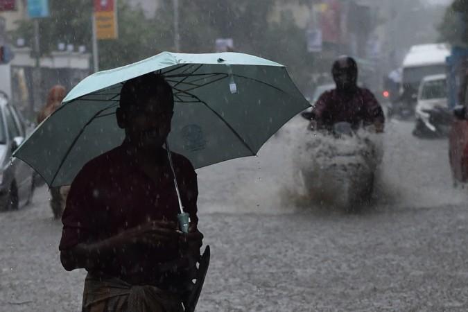 Rains lash Chennai