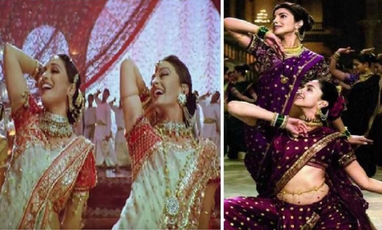 First look: After Aishwarya-Madhuri in 'Dola Re', Priyanka-Deepika sizzle in 'Bajirao Mastani' song 'Pinga'