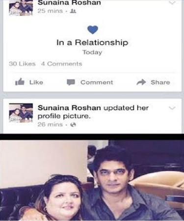 Sunaina Roshan Facebook update