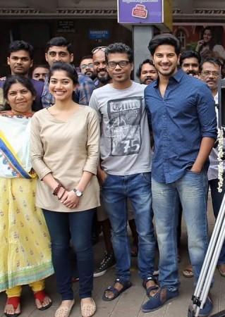 Dulquer Salmaan- Sai Pallavi film starts rolling