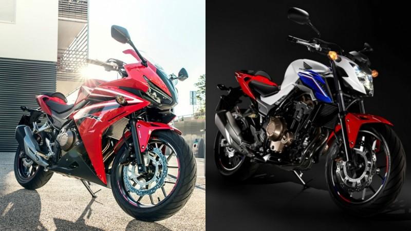 2016 Honda CB500F, CBR500R