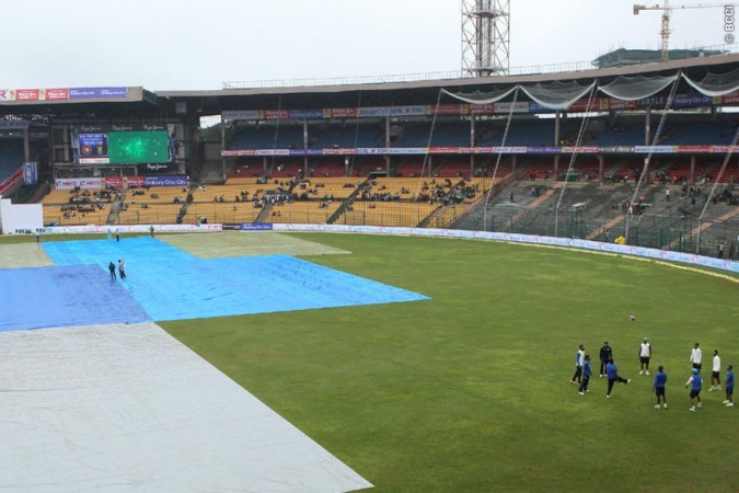 India South Africa 2nd Test Rain Covers