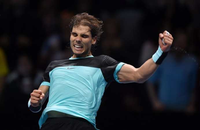 Rafael Nadal ATP World Tour Finals 2015
