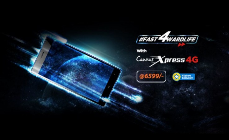 Micromax launches new Canvas Xpress 4G in India; price, specifications