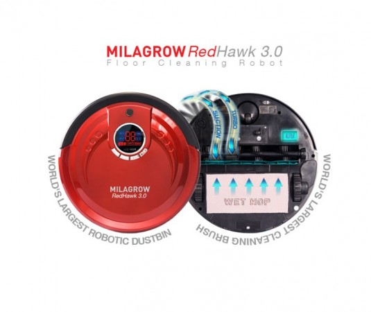 Floor cleaning robot Milagrow RedHawk 3.0 launched in India: Price, feature and demo