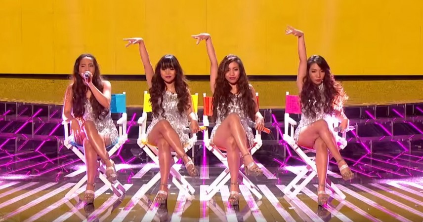 "4th Impact from Cheryl Fernandez-Versini's GROUPS perform in ""The X Factor"" UK 2015"