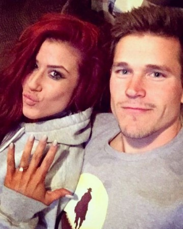 Chelsea Houska is engaged