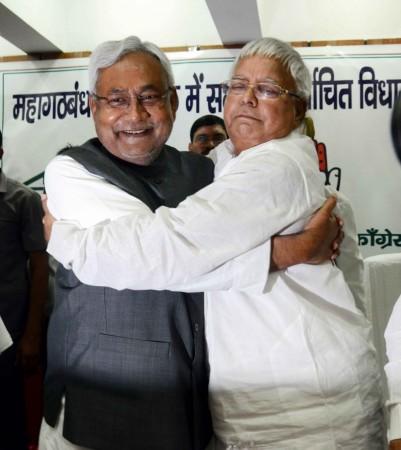 Bihar CM Nitish Kumar and RJD chief Lalu Prasad