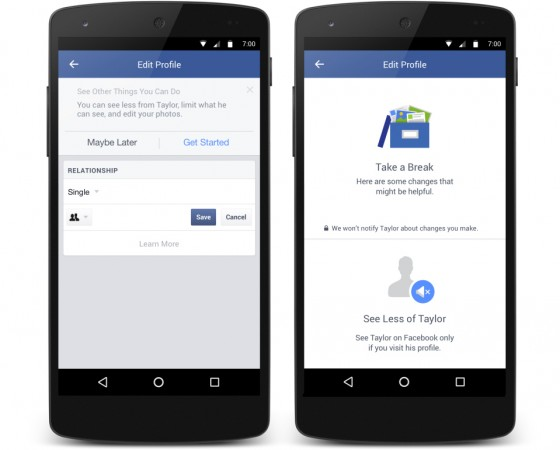 Facebook makes breakups easier: New tool filters your ex's feeds