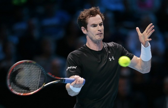 Andy Murray ATP World Tour Finals 2015